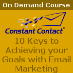 10 Keys to Achieving your Goals with Email Marketing