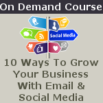 10 ways to grow your business with email and social media