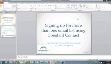 Learn how to Create An Email Sign Up Form With More Than One Option in Constant Contact
