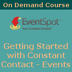 Learn how to use Constant Contact's Event Spot