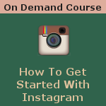 Learn how to get started with instagram