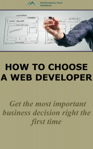 Download the guide to How To Choose A Web Developer