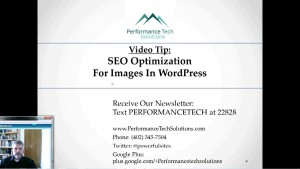 Video Tip on how to improve SEO for images in WordPress