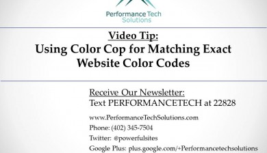 Learn how to get the exact color from any website
